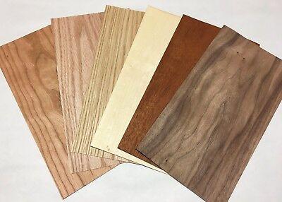 Walnut and Maple veneer wood