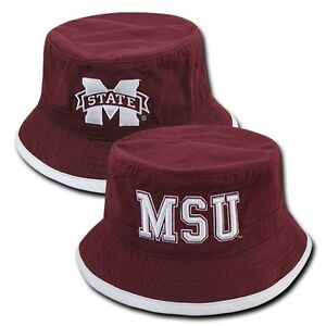 c657cd4c3a3e95 Image is loading Mississippi-Miss-State-MSU-Bulldogs-NCAA-Cotton-Bucket-