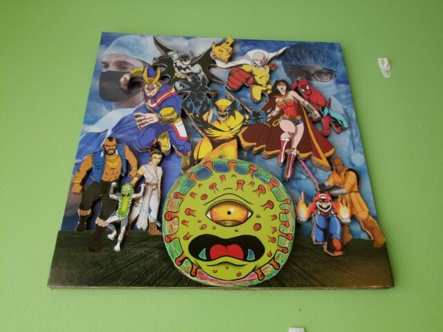 SUPERHEROES VS PANDEMIC 3D Limited Edition Poster 1/1 (Mississauga Food Bank)