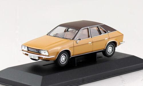 LEYLAND PRINCESS 2200 HL beige marron 1:43 VANGUARDS voiture miniature va10208