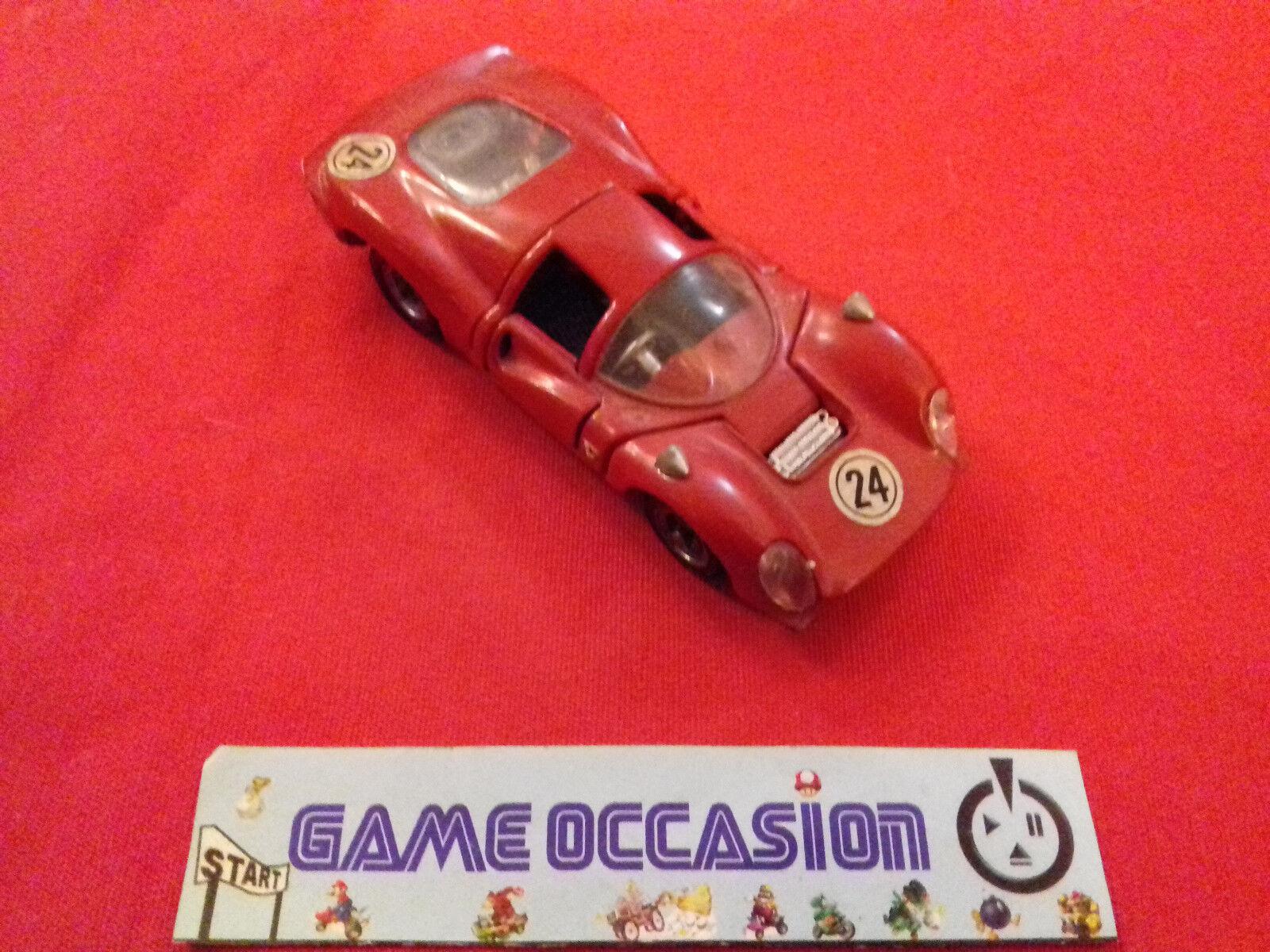 Mebetoys ferrari p.4 a-27 red  metal car 1 43