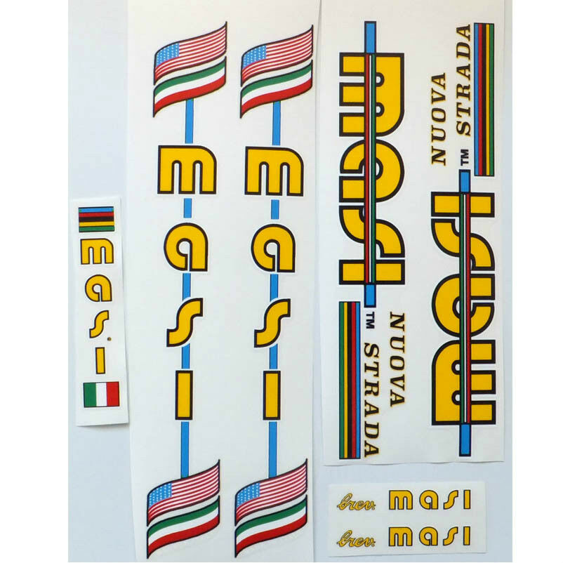 Masi Nuova Strada full set of decals vintage