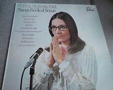 NANA MOUSKOURI ~ Nana's book of songs,UK LP with lyric booklet 1974