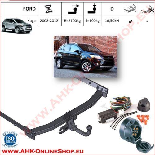 AHK ES7 Ford Kuga I Bj 2008-2012 Anhängevorrichtung Anhängerkupplung komplett