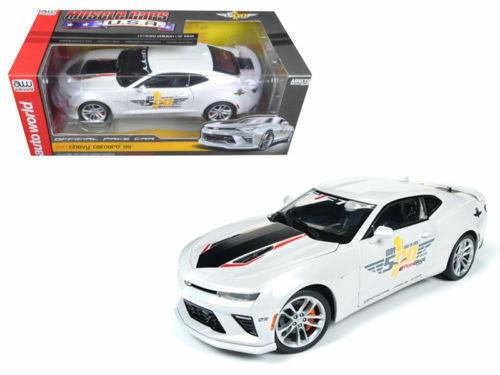 2017 Chevrolet Camaro SS Indy Pace Car 50th 1002PC 1 18 Scale Auto World AW236