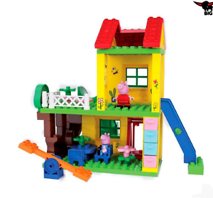 Peppa Pig, Play House Construction Set 75 details