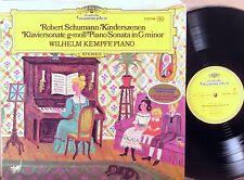 DGG Schumann WILHELM KEMPFF Kinderszenen/Sonata Op. 22 GATEFOLD 2530 246 NM