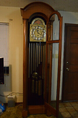 9 Tube Hall Chime Grandfather Clock Bailey Banks Biddle Pickup Lakeland Fl Ebay