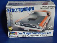 '70 Dodge Challenger T/a Street Burner Revell Kit 85-2596
