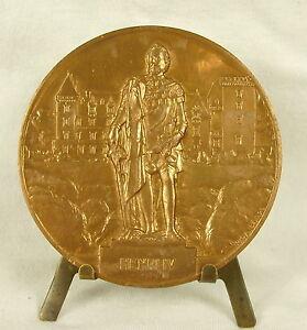 Medaglia-Castello-Della-Pau-Bearn-Luogo-Della-Nascita-Henri-IV-da-R-Benard-Medal