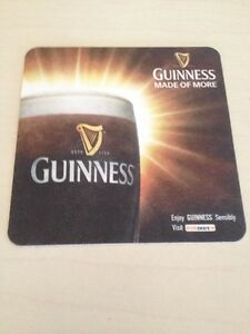 8-x-GUINNESS-IRISH-DUBLIN-BEER-COASTER-MATS-NEVER-USED