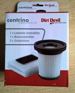 Dirt Devil Juego de filtros para M2881,-2,-5M2009-1 4 piezas