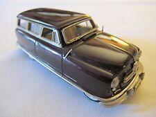 Motor City Gold MCG-001 1950 Nash Rambler Woody Wagon Maroon 1:43 Mint Very Rare
