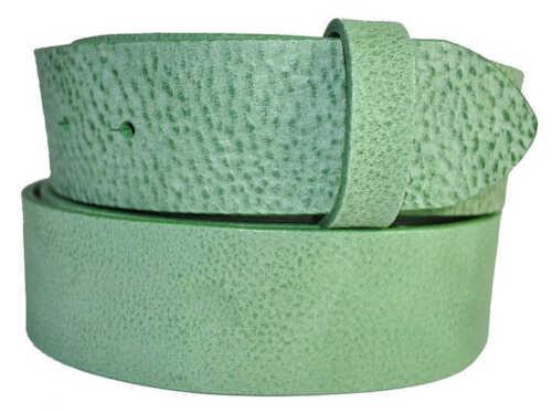 Leder Gürtel Wechselgürtel Vollrindleder Rindsleder Gump mix 4 cm breite
