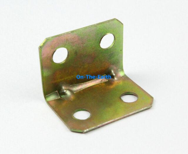 40 Pieces Galvanized Right Angle Corner Brace Corner Bracket 25x18mm