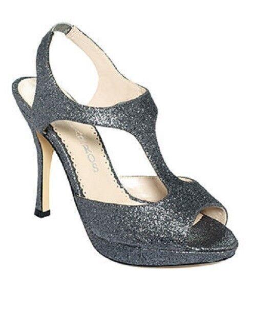 NIB Caparros Shoes DANIELLA Mercury Glitter Sandalas Heels Pumps Shoes Caparros Size 9 M 10a630