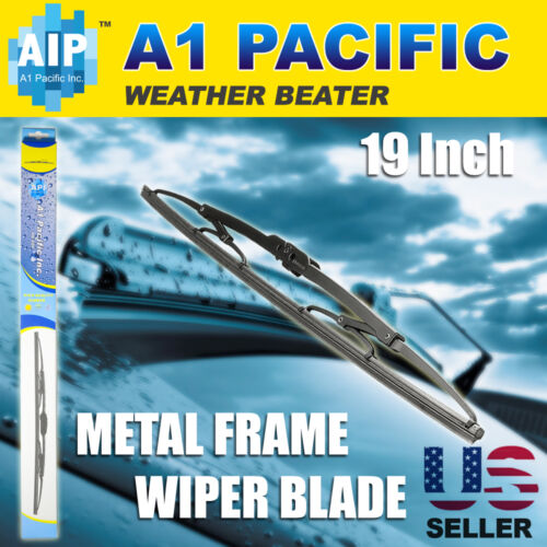 Metal Frame All season Windshield Wiper Blades J-HOOK 19 Inch OEM Quality