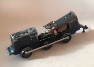 Trix 12v 3-Rail E2 0-6-0T Chassis. Cleaned, Lubricated and Tested. Good Runner.