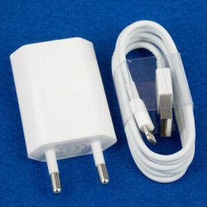 Chargeur-secteur mural+Cable-USB-pour-iPhone-5-6-7-8-X-XS-XR-XS MaX-iPad/Choix