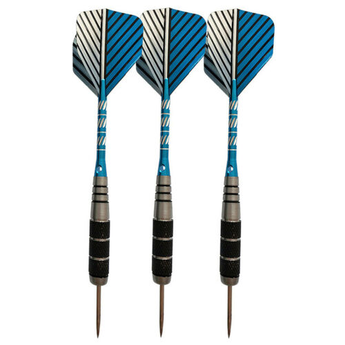 3PCS Professional Steel Needle Tip Darts With Dart Flights Aluminum Shafts
