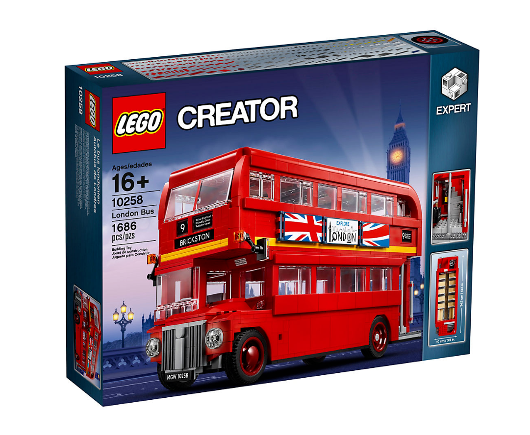 LEGO CREATOR Model Team London Bus SET 10258 1500+ PIECES