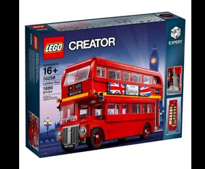 LEGO CREATOR Model Team London Bus SET 10258 1500+ PIECES
