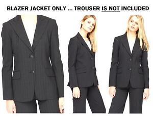 Ladies Womens Stylish Casual Party Work Wear Blazer Jacket Suit Coat Size 8-24