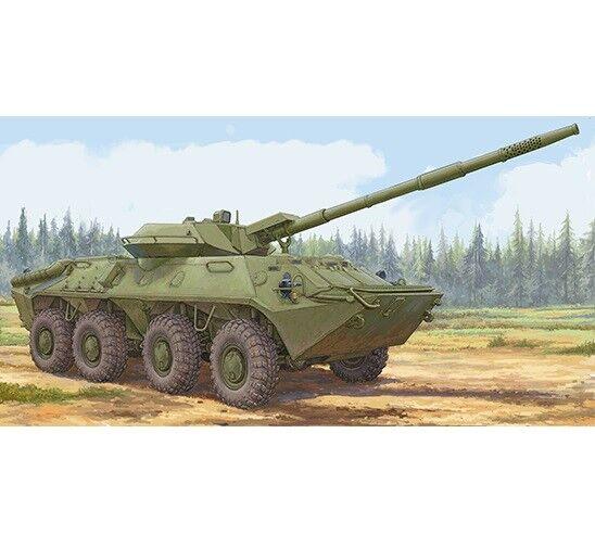 Trumpeter Models 1 35 Soviet 2S14 Zhalo-S 85mm Anti-tank Gun
