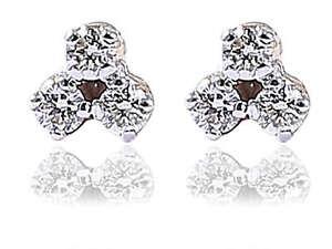 0-22-Cts-Round-Brilliant-Cut-Natural-Diamonds-Stud-Earrings-In-Fine-14Karat-Gold