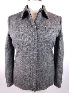 Lauren in Label Ralph da donna tweed 16 di Giacca di agnello Green taglia lana Ff8xxEaq