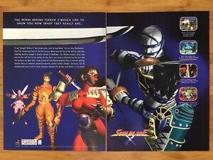 SoulBlade-Soul-Blade-PS1-PSX-Playstation-1-1996-Poster-Ad-Print-Art-Retro-Rare