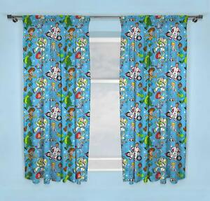 Official-Toy-Story-4-Rescue-Ready-Made-Curtains-54-034-or-72-034-Drop-Matches-Bedding
