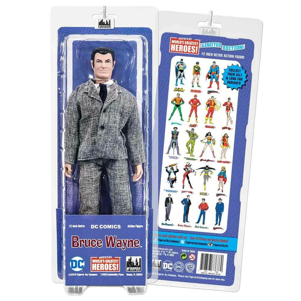12 Pulgadas Retro DC Comics Figuras De Acción Serie  Bruce Wayne