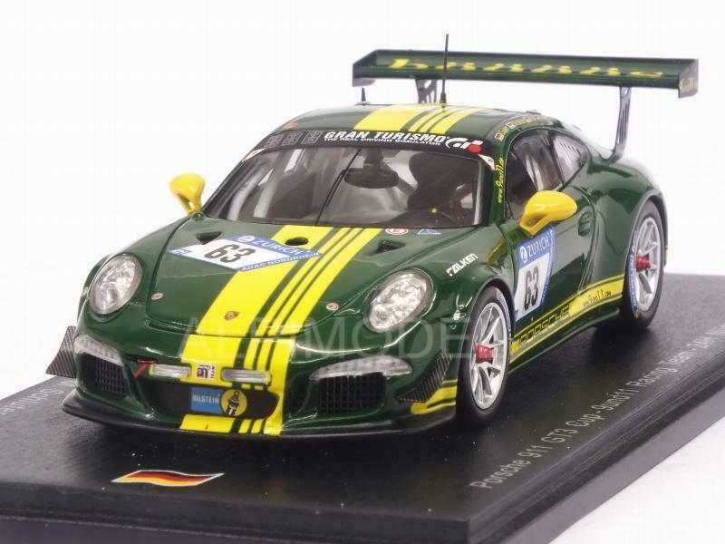 Porsche 911 GT3-R Nurburgbague 2017 Scheerbarth - Kolb  - God 1 43 SPARK SG328  70% de réduction
