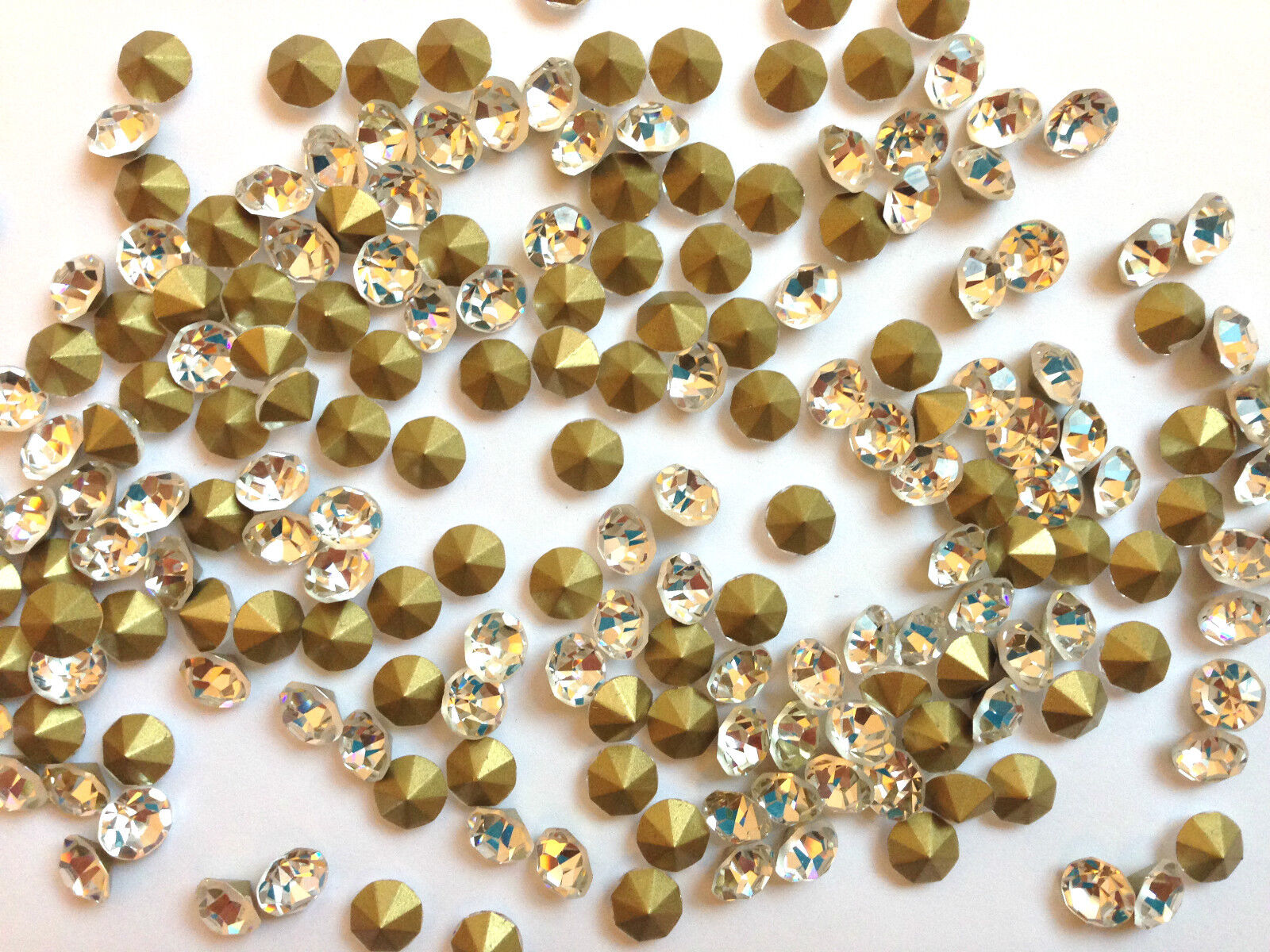 Clear loose rhinestones diamontes bling for cakes craft for Rhinestone jewels for crafts