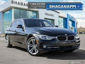 2018 BMW 3 Series xDrive - Leather - Sunroof - Navigation