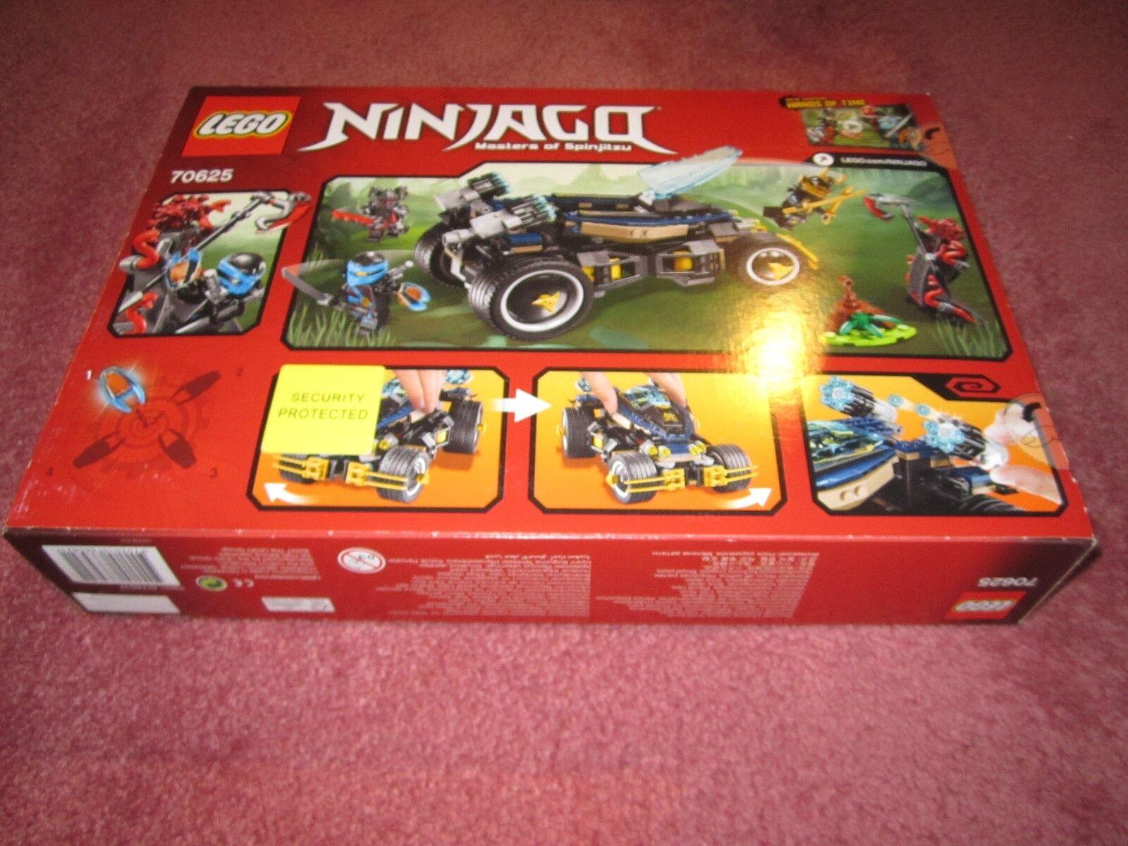 Un fou de Noël remporte une une une grande concurrence Lego Ninjago Samurai VXL 70625-Nouveau/coffret/Scellé | Offre Spéciale  927616