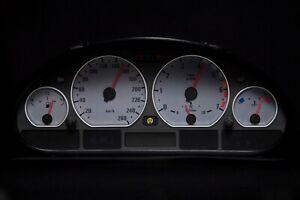Tachoscheibe für BMW Tacho E46 Benzin oder Diesel M3 Grau 3101 Tachoscheiben