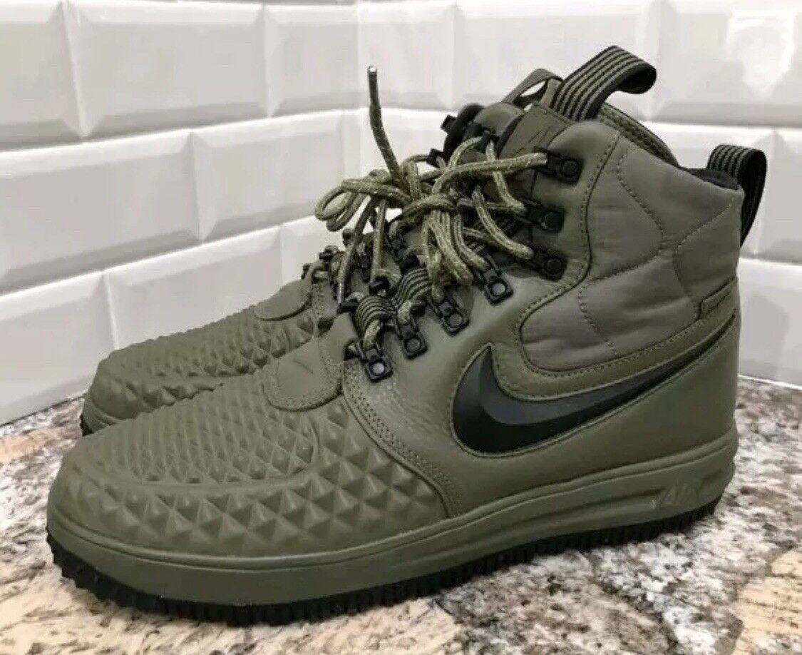 Mens Nike LF1 Duckboot ´17 916682-202 Olive Brand New Size 12 - FREE SHIPPING