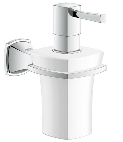 Grohe GRANDERA CERAMIC SOAP DISPENSER 152mm Height, Wall Mounted German Brand