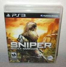 SNIPER GHOST WARRIOR Sealed NEW PlayStation 3 Shooter w/Exclusive PS3 Content
