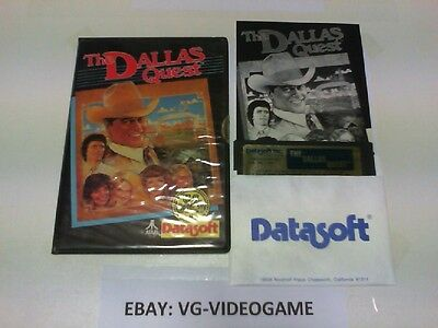 THE DALLAS QUEST  ATARI 32K  FLOPPY DISK RARISSIMO