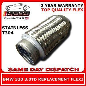 BMW-330-3-0td-2002-2007-Soldadura-ESCAPE-de-Recambio-cable-flexible-para