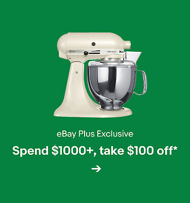 Spend $1000+, take $100 off*