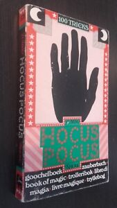 100 Tricks Hocus Pocus Jumbo Show N º 575 Amsterdam Demuestra 1976 ABE
