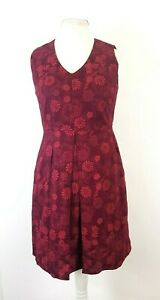 Ness-of-scotland-Ditsy-Floral-Pleated-Landgirl-Country-Skater-Dress-UK-12-New
