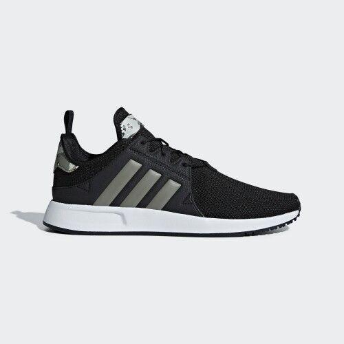 Új Adidas férfi eredetik X_PLR Alkalmi cipők (D96745) Fekete / kőris ezüst-fehér