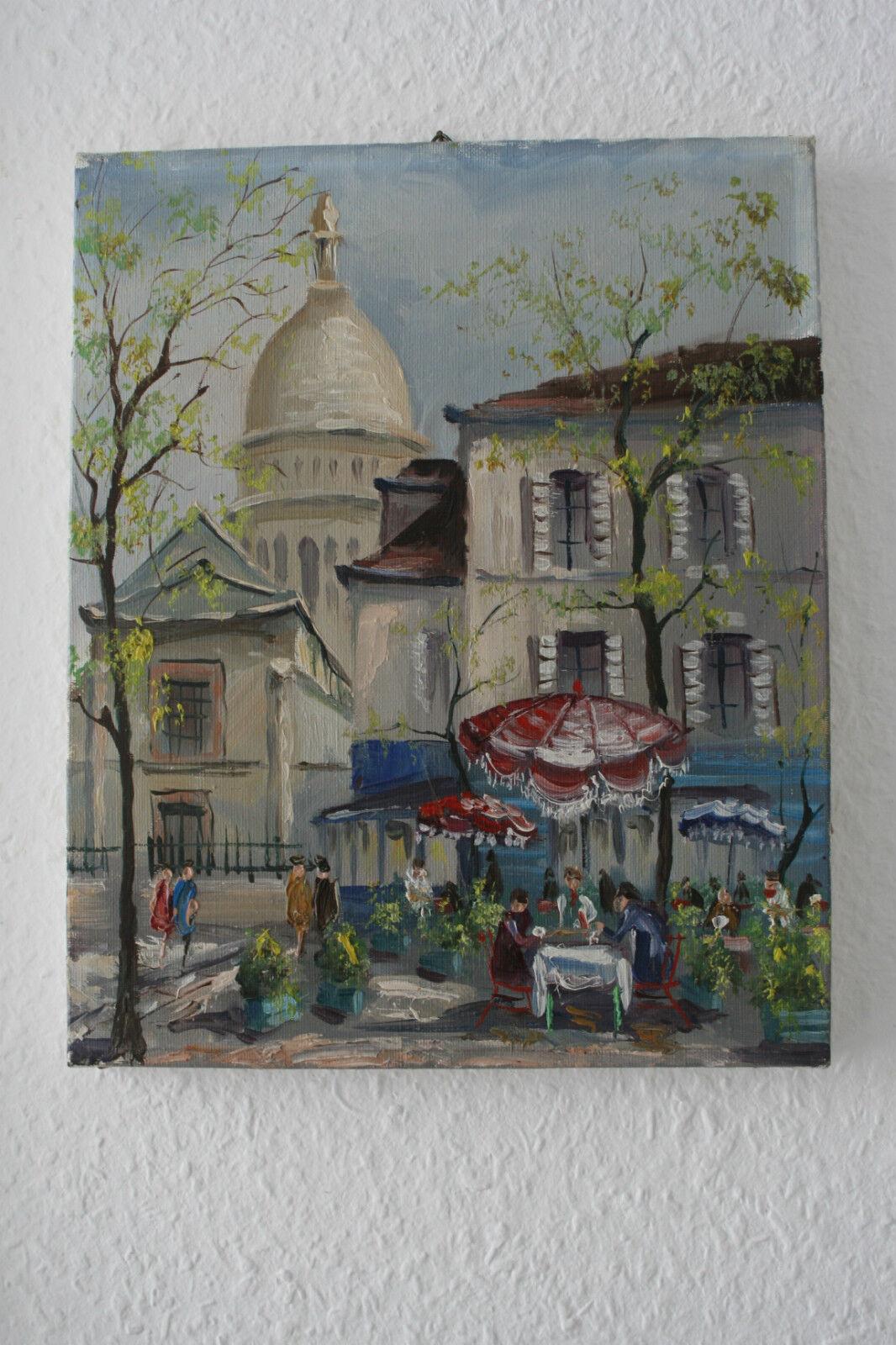 19 Place Du Tertre    Montmartre PIERRE POIRIE
