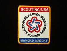 BOY SCOUT    14TH WORLD JAMBOREE  USA CONTINGENT PP