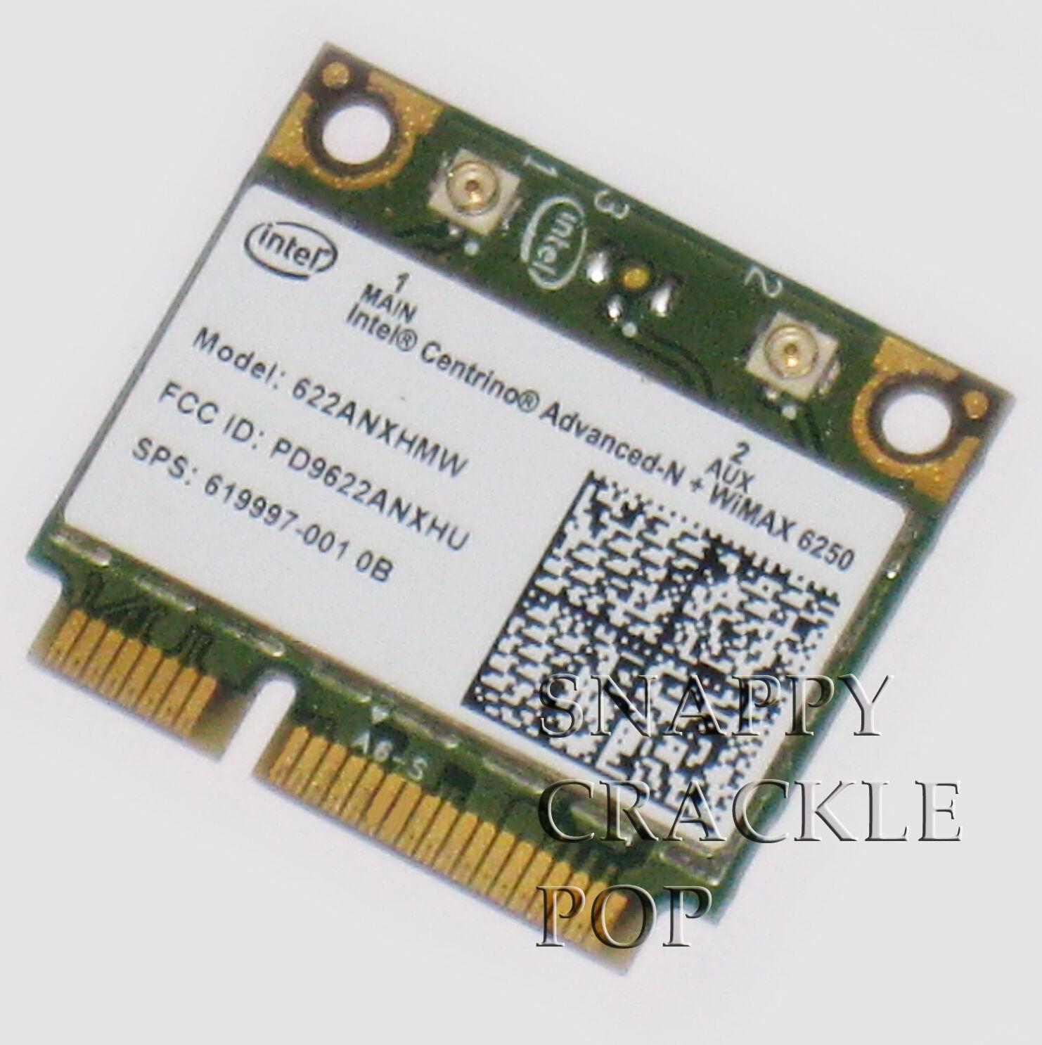 HP Pavilion Envy Intel 6250 Wireless N Wimax Card DM4-11 DM4T-1100 14T-1200